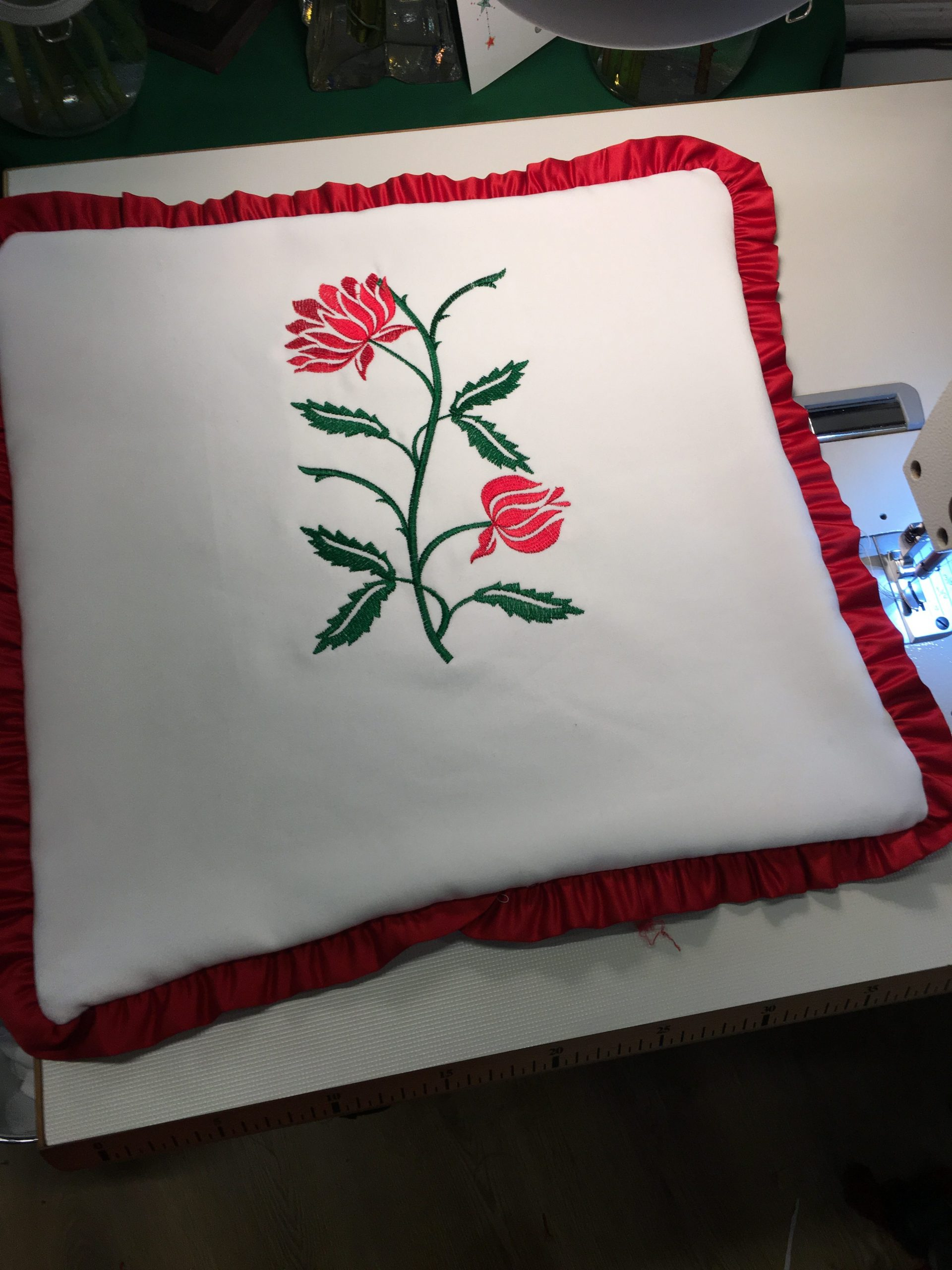 floral embroidery services