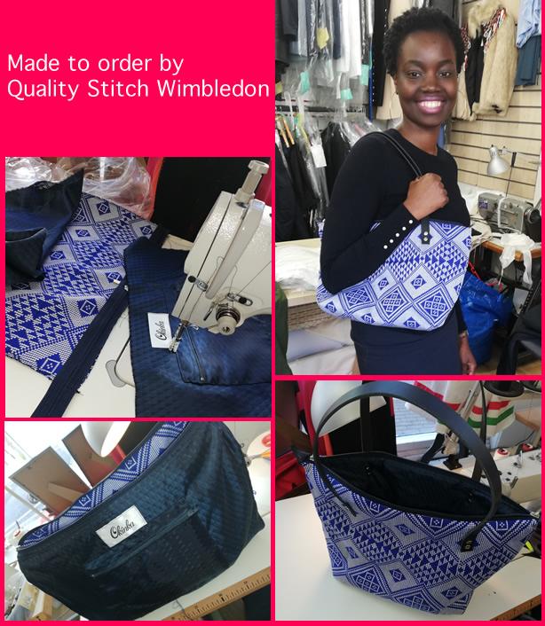 handmade bespoke bag made to order