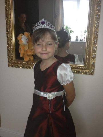 bespoke children's dress