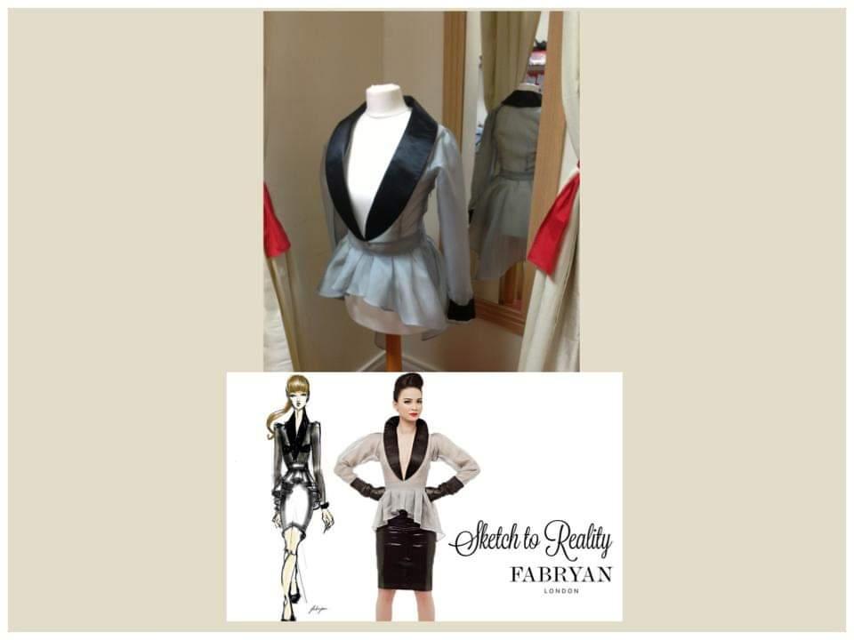 dressmaking and design services jacket