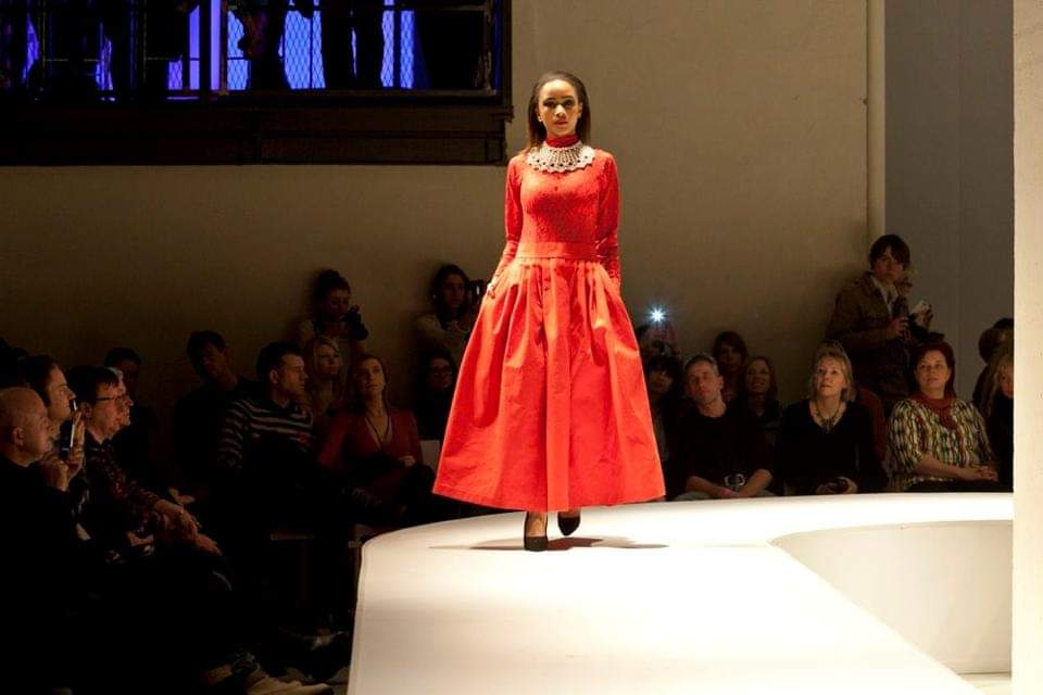 dressmaking and design for the catwalk