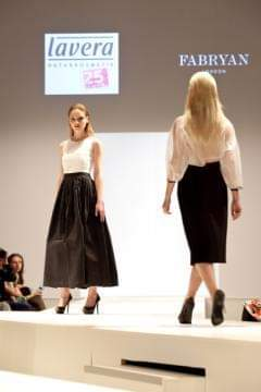 quality stitch designs on the catwalk