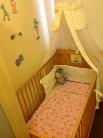 handmade crib curtain canopy