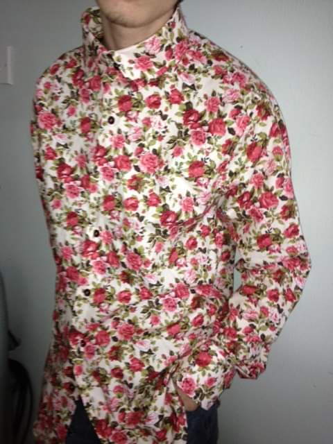 handmade men's shirt