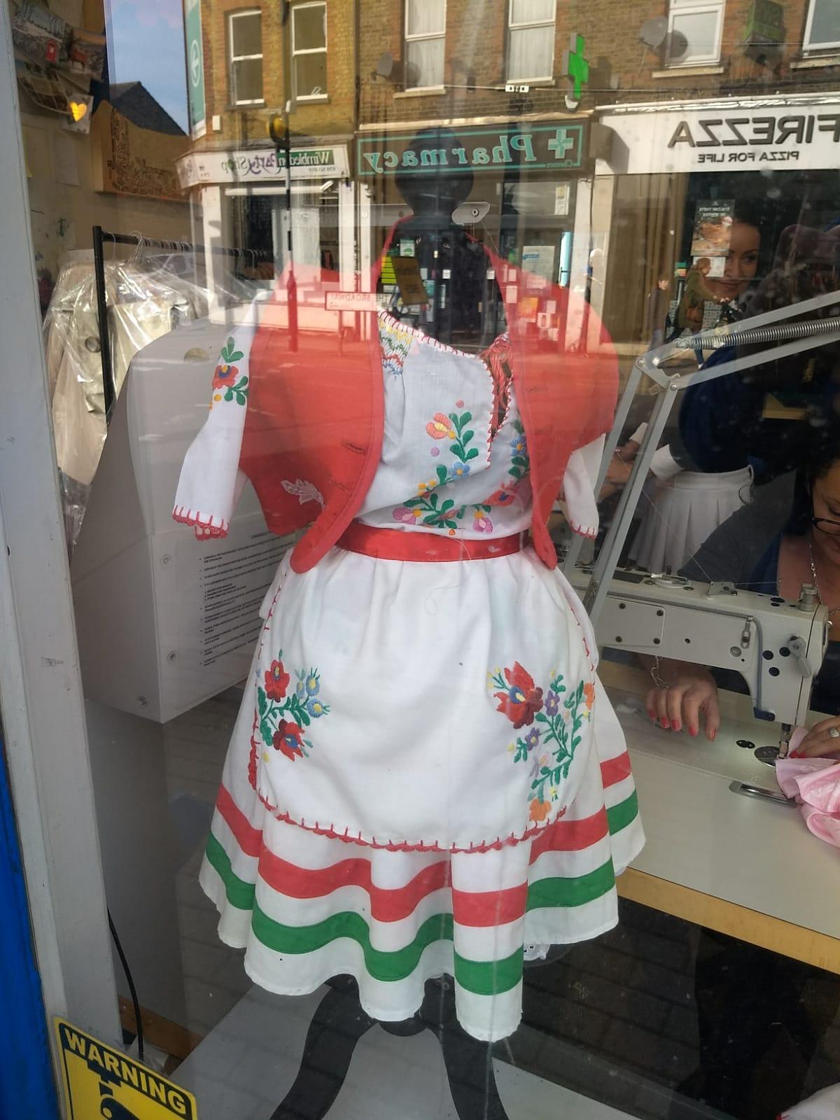 handmade dressmaking services
