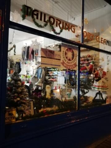 quality stitch shop front
