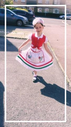 cultural dressmaking children's design